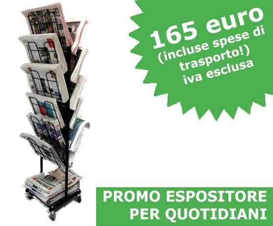 Espositore per quotidiani